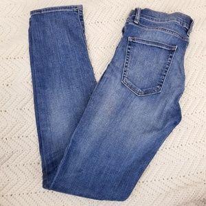 Gap Cigarette Distress Jeans